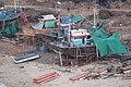 Boat building in Bhagwati Bandar, Ratnagiri 01.jpg