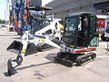 Bobcat 319 Compact Excavator and Bobcat T300 Compact Track Loader at Construct Expo Utilaje 2010.JPG