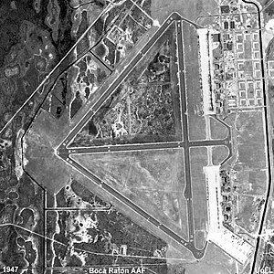 Boca Raton Army Air Field - Boca Raton Army Airfield - Airfield