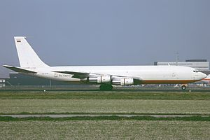 Azza Transport Flight 2241 - A Boeing 707-330C similar to the one involved in the crash.