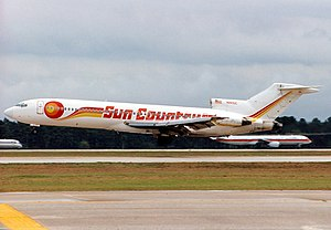 Sun Country Airlines - A Sun Country Boeing 727-200 in 1994