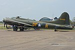 Boeing B-17G Flying Fortress '124485 DF-A' 'Memphis Belle Sally B' (G-BEDF) (30967972456).jpg