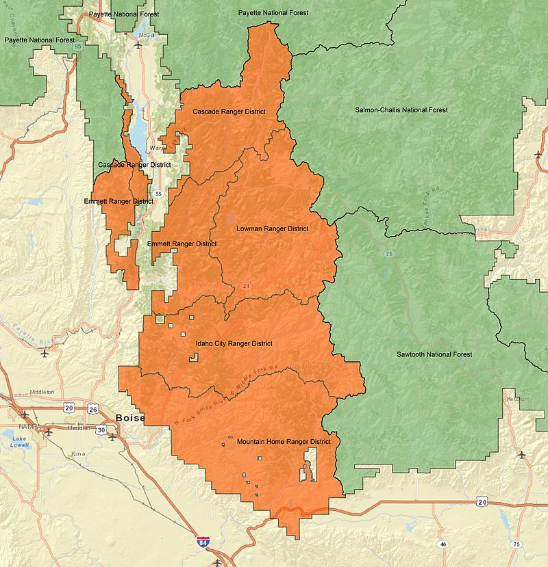 Boise National Forest - Wikiwand