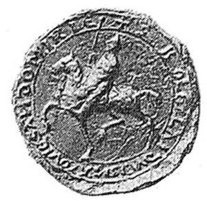 Bolesław I of Masovia - Seal of Boleslaw I of Masovia