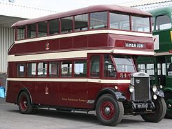 Bolton Corporation Tramways bus 54 (WH 1553), 2006 Lincolnshire Road Transport Museum Easter Sunday Open Day (2).jpg