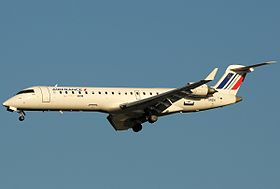 Bombardier CRJ700 d'Air France