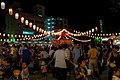 Bon Odori, a style of dancing performed during Obon, Japan; August 2014 (01).jpg