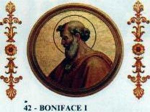 Pope Boniface I - Image: Bonifacius I