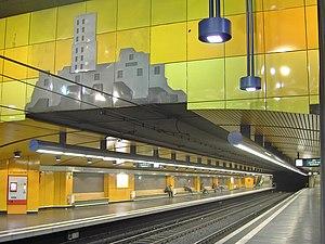 Bonn-Bad Godesberg station - Underground station