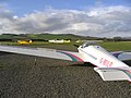 Borders Gliding Club, Milfield - geograph.org.uk - 288102.jpg