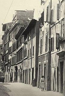 Borgo Vecchio (Rome) Ancient road in Rome, demolished in 1937