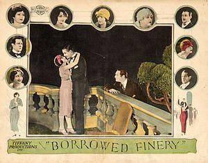 Borrowed Finery - Image: Borrowedfinery 1925 lobbycard