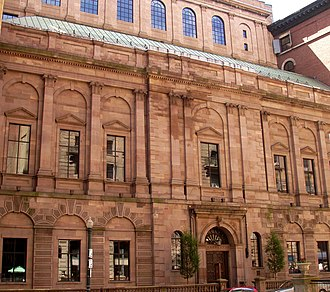 Boston Athenæum - The Boston Athenæum building today, as designed by Edward Clarke Cabot with additions by Henry Forbes Bigelow