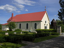 Botsmark Church in August 2006