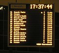 Bournemouth, Travel Interchange departure board - geograph.org.uk - 617532.jpg