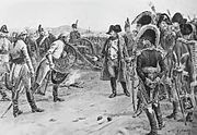Mack surrenders to Napoleon at Ulm by Paul-Emile Boutigny