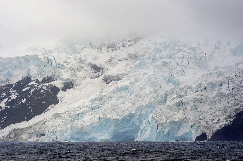 File:Bouvet Island west coast glacier.jpg