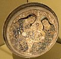 Bowl with two large figures, Iran, late 12th-early 13th century, glazed stone-paste with overglaze-painted polychrome and gilding, HAA.JPG