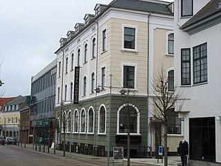 Brønderslev city in Denmark
