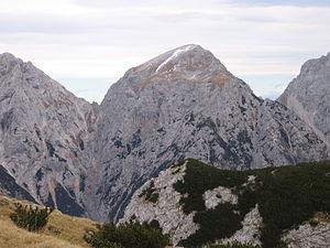 Brana (mountain) - Image: Brana Kalshki greben