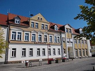 Brandis, Germany - Image: Brandis Rathaus