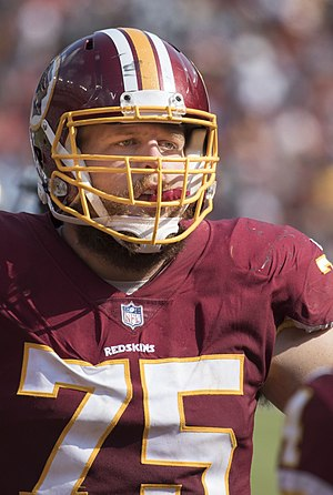 Brandon Scherff - Scherff with the Washington Redskins in 2017