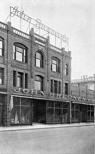Breuners Home Furnishings - Sacramento, 1858