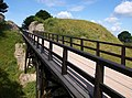 Bridge into Old Sarum castle - geograph.org.uk - 1400381.jpg