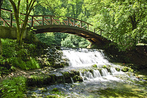 Sarajevo - Vrelo Bosne park is on the city outskirts