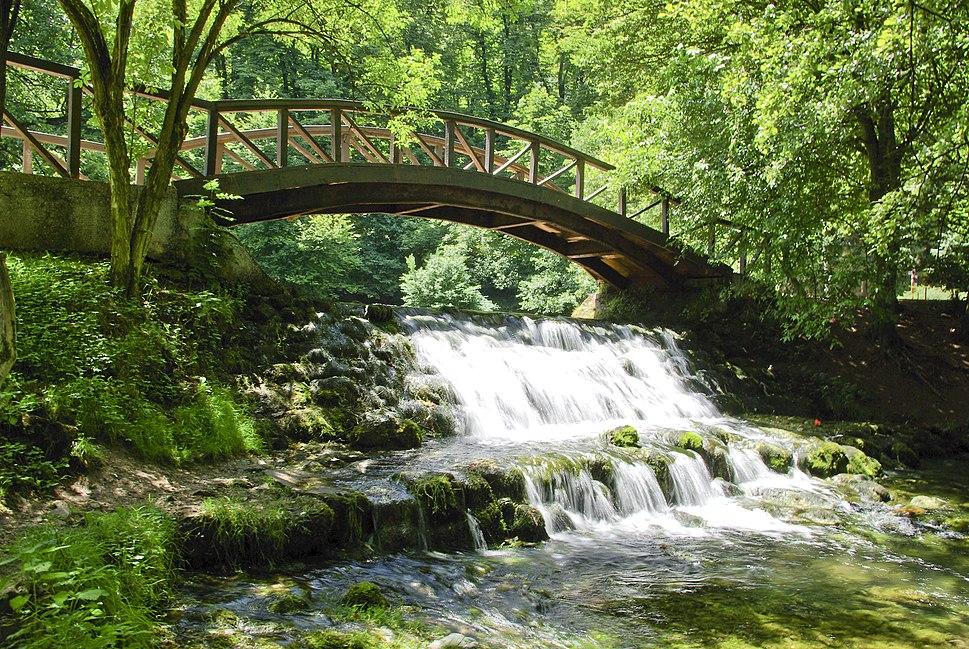 Bridge on Vrelo Bosne