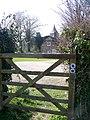Bridleway gate, Pentridge - geograph.org.uk - 1207895.jpg