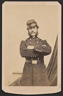 Brigadier General Thomas Greely Stevenson of 24th Massachusetts Infantry Regiment and General Staff U.S. Volunteers Infantry Regiment in uniform) - Photographed by Black LCCN2016646124.jpg