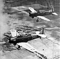 British Flight Training School No 1 - BT-14 and BT-13 Two-Ship formation.jpg