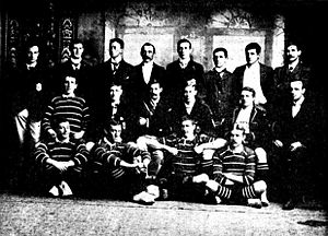 1899 British Lions tour to Australia - Image: British Rugby Team 1899