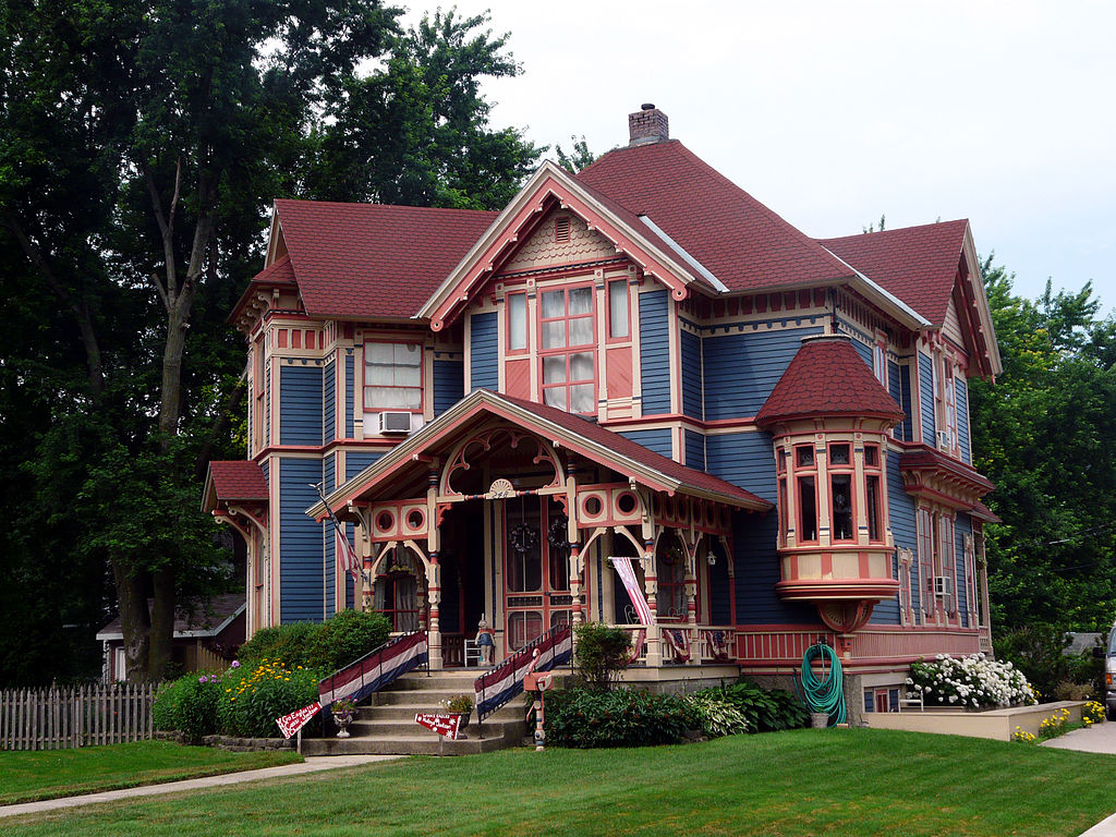 File Britt Iowa Historic House George E Stubbins House