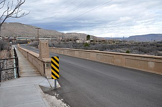 National Register of Historic Places listings in Yavapai County, Arizona - Image: Broadway Bridge (Clarkdale, Arizona)