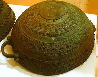 Archaeology of Igbo-Ukwu - Image: Bronze pot, 9th century, Igbo Ukwu, Nigeria