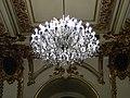 Bucuresti, Romania. CERCUL MILITAR NATIONAL. Sala de receptie. (B-II-m-A-19201)(Plafon cu candelabru)(3).jpg
