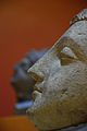 Buddha Head - Stucco - ca 2nd Century CE - Gandhara - Chir Tope Taxila - ACCN NS 4120-A10478 - Indian Museum - Kolkata 2016-03-06 1866.JPG