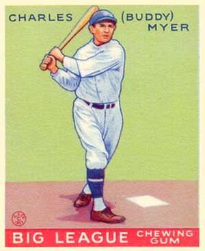 1935 Major League Baseball season - All Star Buddy Myer