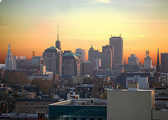 Western New York - Image: Buffalo Skyline