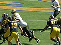 Buffaloes on offense at Colorado at Cal 2010-09-11 25.JPG