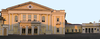 Kharkiv Philharmonic Society - Main entrance of the Kharkiv Philharmonic, Ukraine