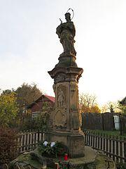 Statue of John of Nepomuk in Bukvice