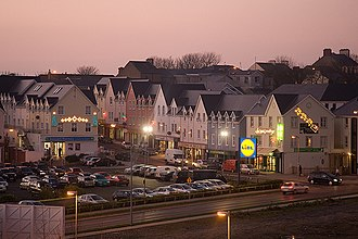 Inishowen - Buncrana is the largest town in Inishowen and second largest in County Donegal.