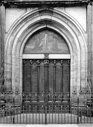 Gott der Herr ist Sonn und Schild, BWV 79 - Schlosskirche, Wittenberg, main door