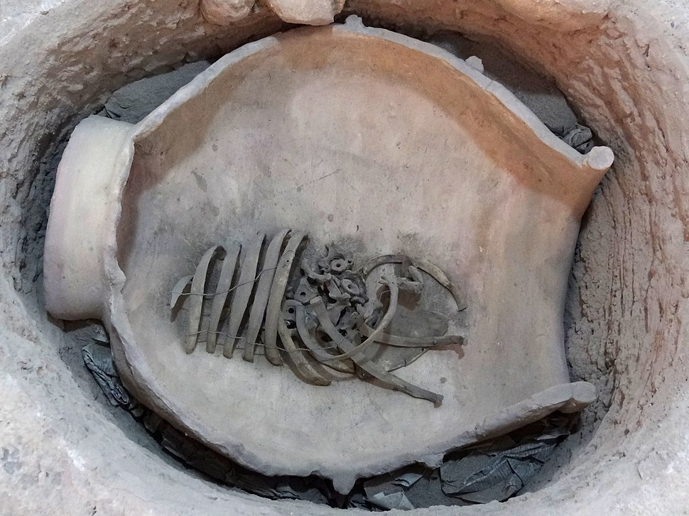 Burial Jar of Young Child - Ethnographic Museum - Falak-ol-Aflak Castle - Khorramabad - Western Iran (7423663068)