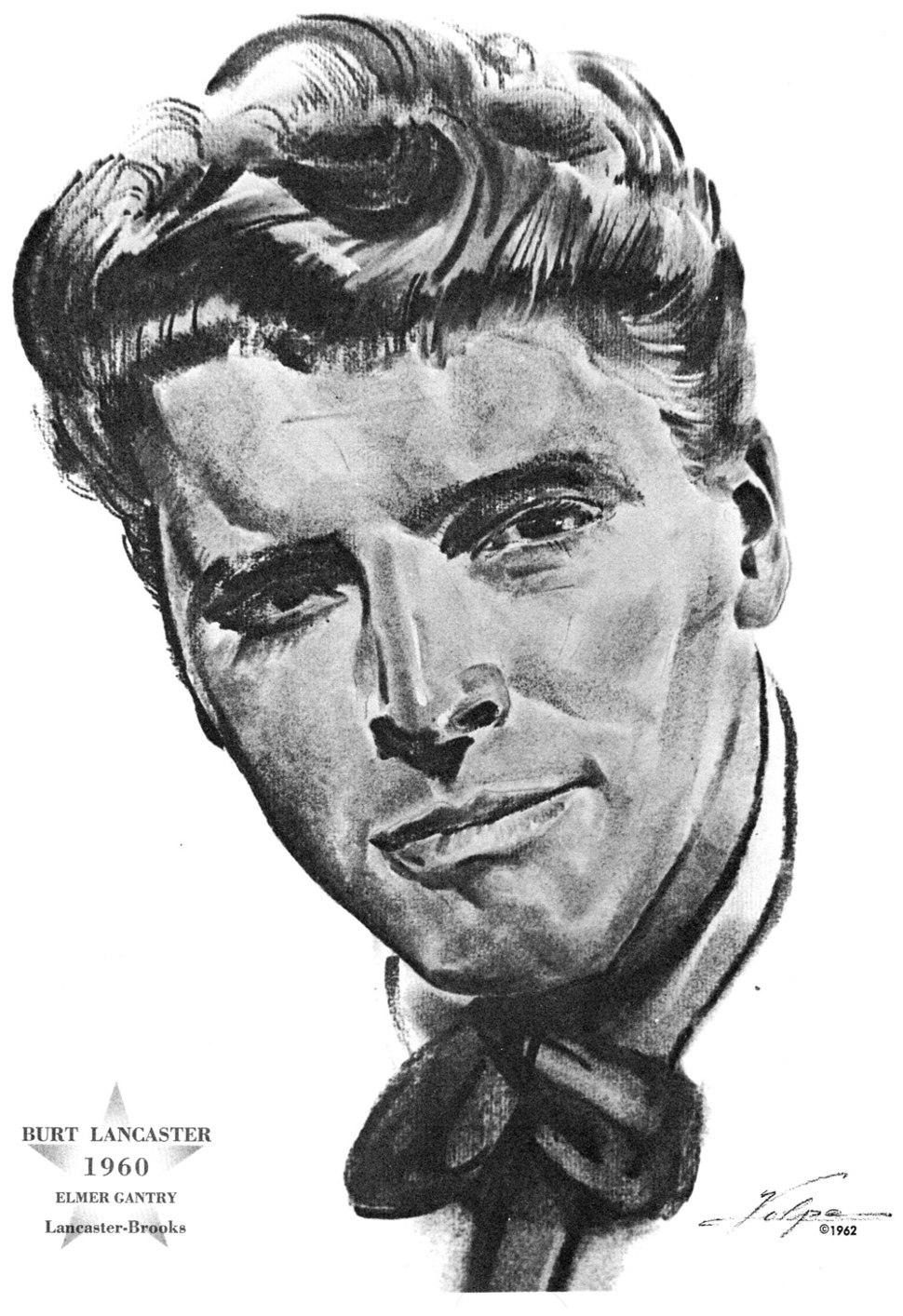 Burt Lancaster 1960