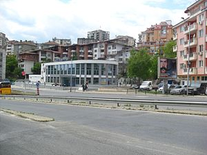 Bus station in Veliko Tarnovo