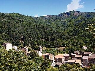 Bustanico Commune in Corsica, France